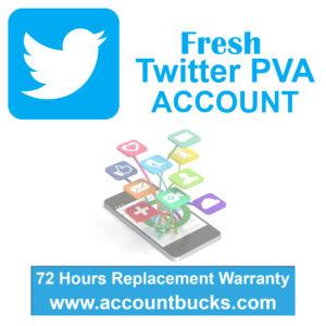Premium Plan- 50 Fresh Basic Plan- 5 Fresh Twitter PVA Account