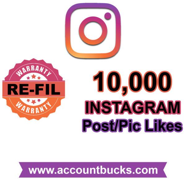 Diamond Plan: 10,000 Instagram Post Likes