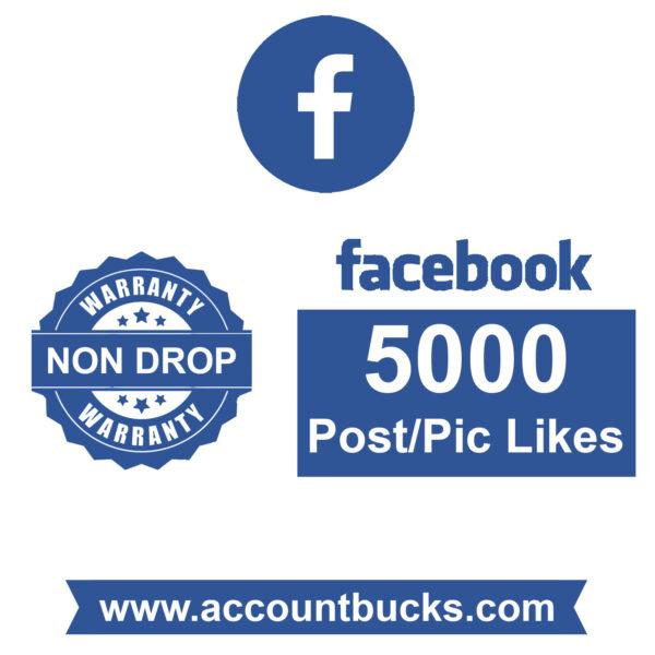 Platinum Plan: 5000 Facebook Post Likes