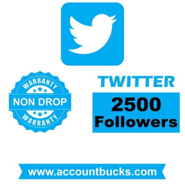 Premium Plan: 2500 Twitter HQ Followers