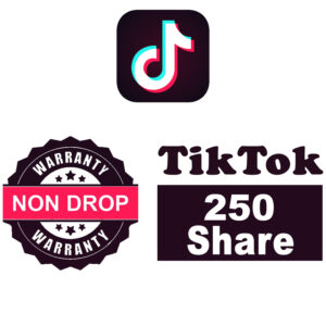 Standard Plan: 250 TikTok Shares