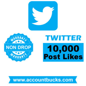 Diamond Plan: 10,000 Twitter Post/Pic Likes