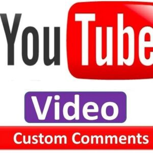Buy cheap youtube custom comments